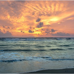 Тропический закат...