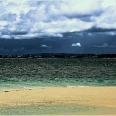 Город Занзибар. Вид с острова.