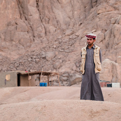 Житель Синайской пустыни