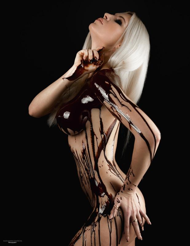 Девушка в шоколаде картинки, картинки дед