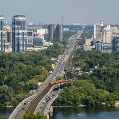 Киев, левый берег