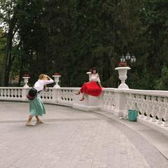 Фотосессия в парке.