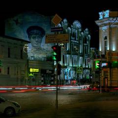Ночной Харьков.