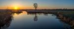 Рассветы на мже (Панорамное)