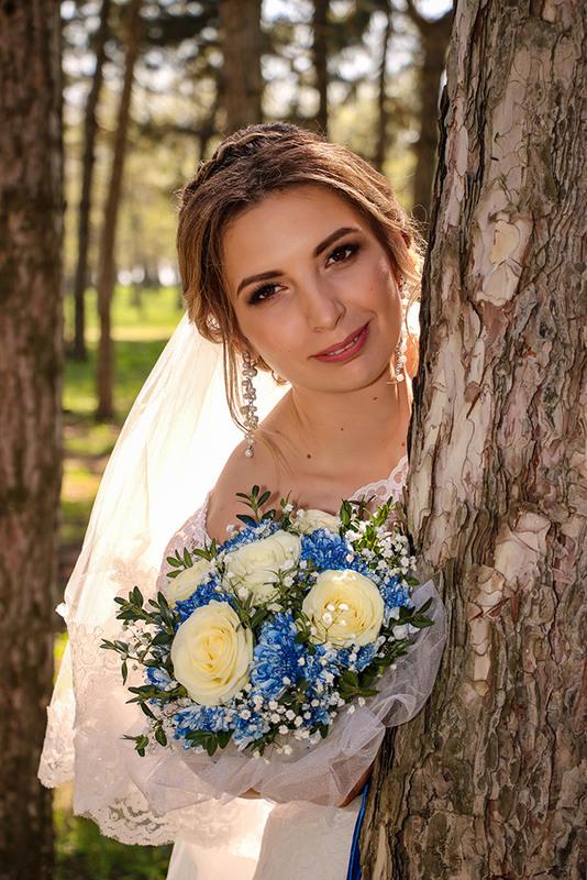 Красивая свадебная фотосессия летом открывался