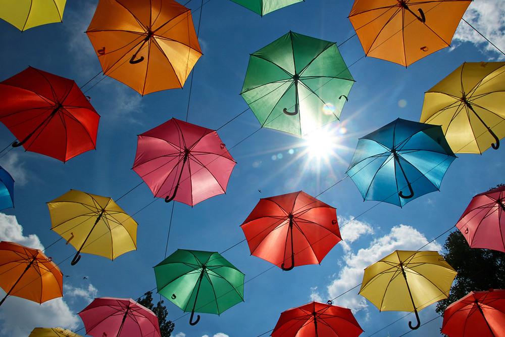 Красивый зонт картинки