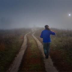 Фотограф в тумане...