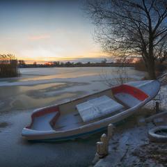 В морозной тиши...
