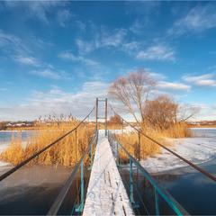 Зимним утром на Журавлёвке