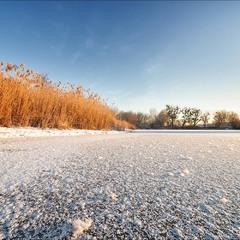 Солнце, иней, Зима!