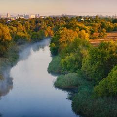 Утро на Донецком Городище