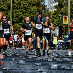 ... на берлинском марафоне