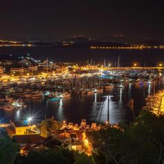 Ночная Пристань.
