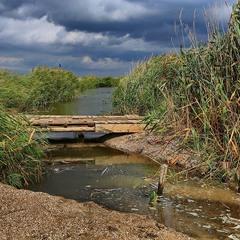 Устье реки Корсак