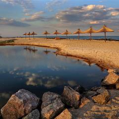 Пляж Акватория Бердянск
