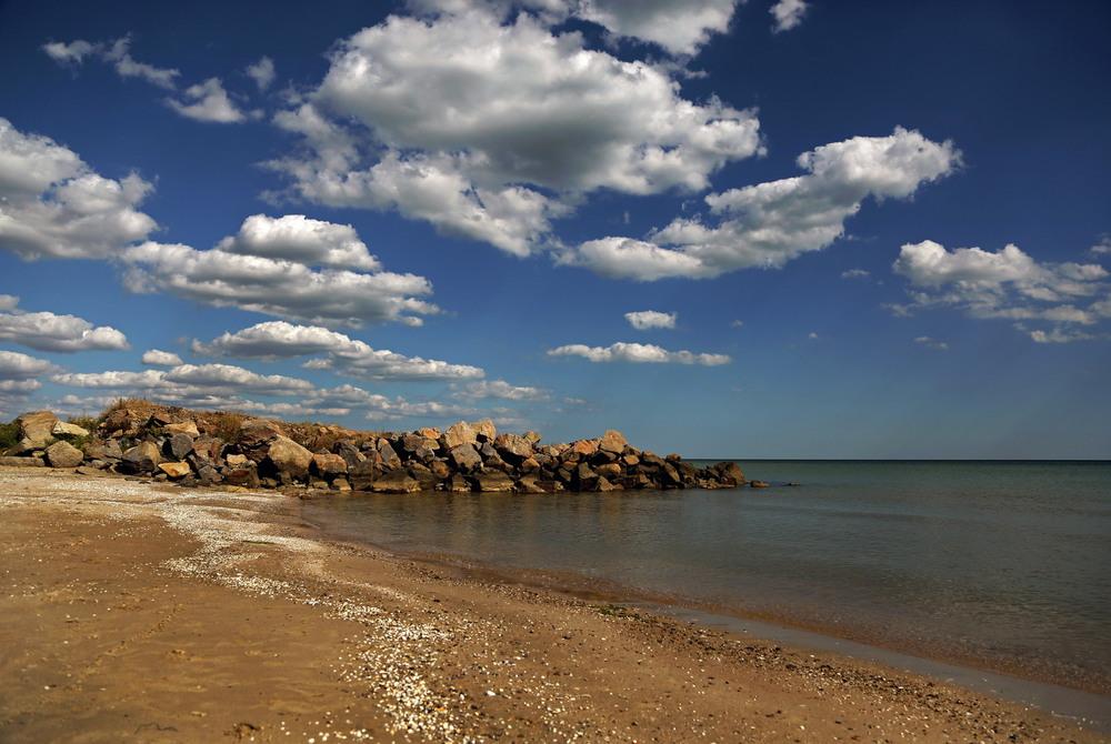 картинки азовского моря одной стороны