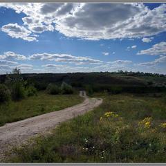 Дорога у Кам'яну Балку.