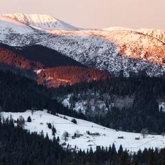 Вид на гору Шпицы