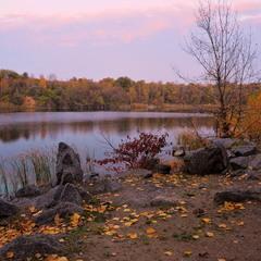 Красуні-осені вечірнє завмирання