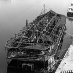 Скелет корабля