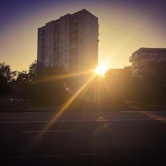 Солнце города