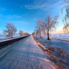 Зимы дорога ...