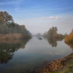 Осенняя, рыбацкая ...