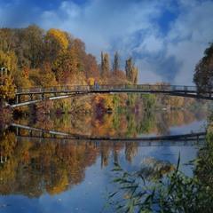 Осенний мосточек ...