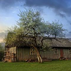 Домик в горах ... А вообще бывшая школа в деревне