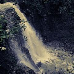 Манявський водоспад ( Карпати )
