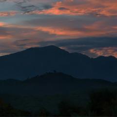 Сутінки в горах
