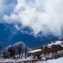 Крим. Зима у горах