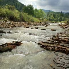 Гірська річечка Кам'янка