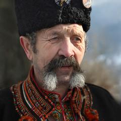 Горянин із селища Ясіня Василь Процюк