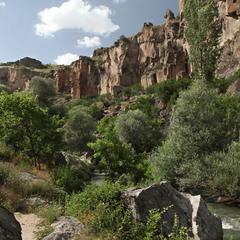 Каньйон Іхлара в Каппадокії
