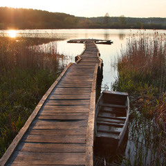 Сільське озеро