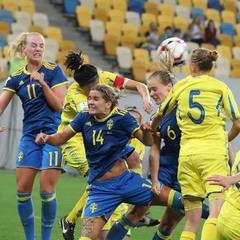 І жінки грають у футбол...
