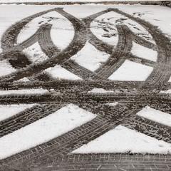 Графика одесской зимы