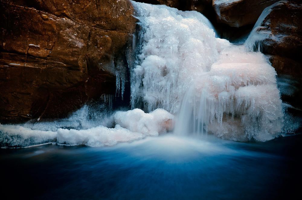 фото зимних водопадов этой опции является