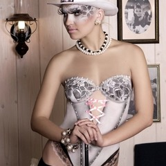 """Moulin Rouge"" (боди-арт корсет)"