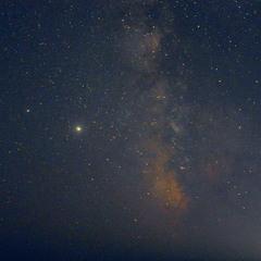 Юпітер і Чумацький Шлях