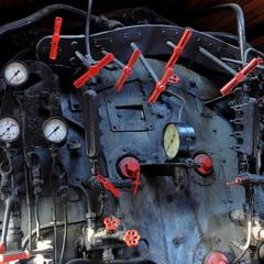 Пульт керування паровоза