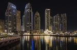 Вечерняя прогулка по Дубай Марина