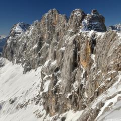 На этом великане живет ледник Дахштайн.