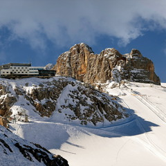 Ледник Дахштайн - 3000 метров свободы!