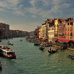Немного классики: Венеция, Гранд-канал.