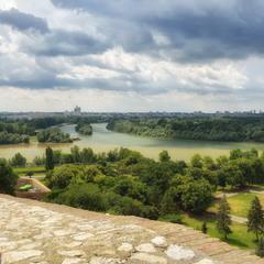 Слияние Савы с Дунаем