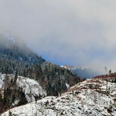 Альпийское утро в Фуш-ан-дер-Гроссглоккнер штрасcе...)