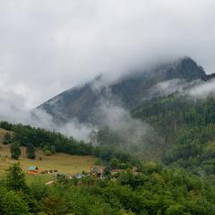 Непогода в горах