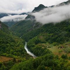 Пасмурно в горах